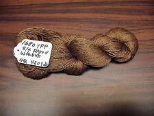 Rayon Spun Yarn 8/4 (1680YPP)1 Skein 4 oz.420yds Walnut