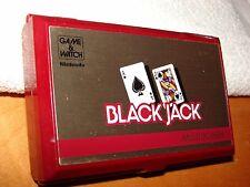 NINTENDO GAME & WATCH 1985 BLACK JACK BJ-60 MULTI SCREEN NICE COND! MADE N JAPAN