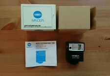 Minolta Auto Electroflash 118X Shoe Mount Flash + Box, Insert and Manual VGC!