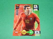 DECO PORTUGAL PANINI FOOTBALL CARD FIFA WORLD CUP 2010  ADRENALYN XL