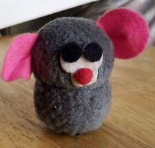 Vintage 1977 Wallace Berry Plush Mouse Toy Van Nuys California Made In Taiwan