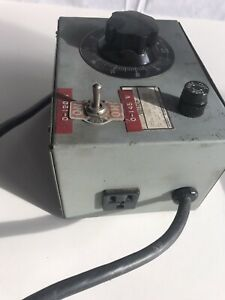 GE VOLT-PAC Variable Power Transformer Variac 9T92A91  0-140V, 10A