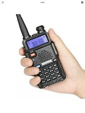 BaoFeng UV-5R VHF/UHF Analog Portable Fire / Police / Taxi / GMRS Bands