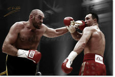 TYSON FURY PHOTO PRINT POSTER PRE SIGNED - 12 X 8 INCH (A4) - PREMIUM QUALITY