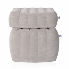 Legs Stretch or Curl Up Inflatable Travel Pillow Office Home Leg Up Footrest