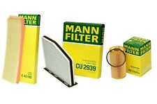 Mann Oil Air Paper Cabin Filter Service Kit for VW Beetle Golf Jetta Passat 2.5L