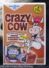 "Crazy Cow Cereal 2"" X 3"" Fridge / Locker Magnet."