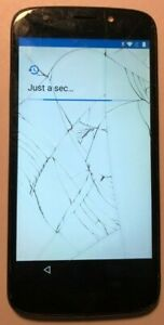 Motorola MOTO E5 Play XT1921-2 (Cricket) Blue Smart Phone Repair Crack LOCKED