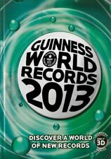 Guinness World Records 2013, Guinness World Recor, UsedVeryGood, Hardcover