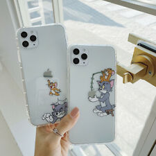 Originality Cartoon Tom and Jerry Cover Case For iPhone 7 8Plus XR Xs Max 11Pro