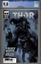 THOR 5 3RD PRINT CGC 9.8 DONNY CATES 1ST FULL APPEARANCE BLACK WINTER FAST TRACK