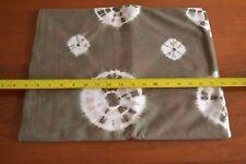 """By 1/2 Yd, 33"""" Wide, Vintage White & Brown Cotton Batik, N83"""