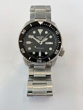 Seiko 5 Sports Automatic SRPD55K1 Silver Black Watch