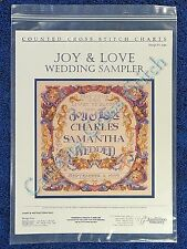 Cross Stitch Pattern Wedding Sampler Joy & Love Donna Vermilion Giampa