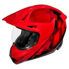 Icon Variant Pro Ascension Red Motorcycle Helmet