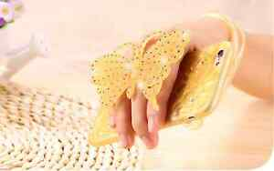 LUXURY BUTTERFLY Diamond Fashion Soft Gel Tpu Back Case Cover For Apple iPhone