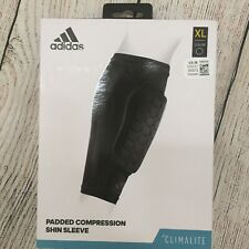 Adidas Adult Padded Compression Shin/Calf Sleeve Sz. XL NEW 061073