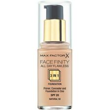 Max Factor Facefinity All Day Flawless 3 in 1 Liquid Foundation 30mL - Natura...