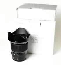 Fujifilm Fujinon GF 23mm F/4 Wide Angle Lens