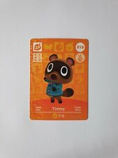 Timmy Amiibo Card 310 Series 4 Animal Crossing New Horizons Unscanned New