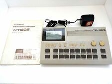 Roland TR-505 Rhythm Composer Drum Machine W/ AC Adapter & Manual made in JAPAN