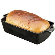 Cast Iron Bread Pan Cooking Utensil Sets Heat Distribution Handles Golden Crust
