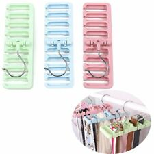 Practical Bedroom Closet Organization Belt Organizer Ties Hanger Storage Rack