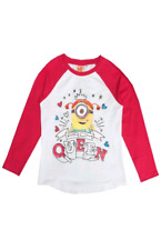 Minioins Despicable Me Long Sleeve Top T-shirt Size 4-5 Years