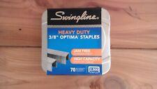 Swingline Optima High Capacity Staples 38 Leg 2500box 074711355506