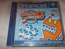 Locale DREAMCAST Chuchu ROCKET Game-Nuovo completo con dreamkey 1.5