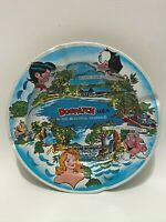 Vintage 1975 Capp Enterprises Li'l Abner Dogpatch Tin Ashtray Beautiful Ozarks