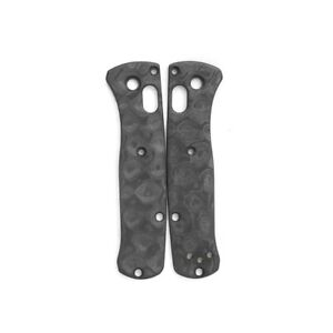 Flytanium Classic Raindrop Scales for Benchmade MINI Bugout Carbon Fiber FLY781