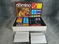Vintage Colour Domino, Jumbo 1970 Made in Holland, Dominoes Game Retro