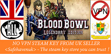 Blood Bowl Legendary Edition Steam key NO VPN Region Free UK Seller