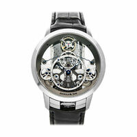 Arnold & Son Time Pyramid Steel Manual 44.6mm Mens Watch 1TPAS.S01A.C124S