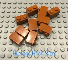 LEGO 10 DARK Orange Brick 1x2  31050 10264 4728 4767 10144 7194 10224 4756 21302