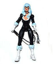 Marvel Legends Infinite Series Spiderman Skyline Sirens Black Cat Action Figure
