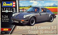 Revell 07688 1987 Porsche 911 Carrera 3.2 (G) 1:24