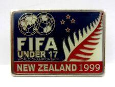 FIFA Under 17 World Football Championship New Zealand 1999 Official Pin Badge