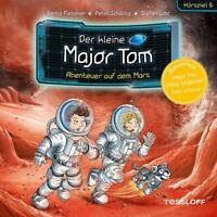 DER KLEINE MAJOR TOM - 06: ABENTEUER AUF DEM MARS (HÖRSPIEL) TESSLOFF  CD NEW