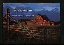 US FDC #2444 USPS Ceremony Program 1990 Cheyenne WY Wyoming Statehood