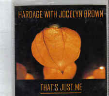 Hardage with Jocelyn Brown-Thats Just Me Promo cd maxi single