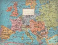 """Public Domain Portfolio """"Nostalgie-Europakarte"""" Mappe Landkartenstil für DIN A6"""