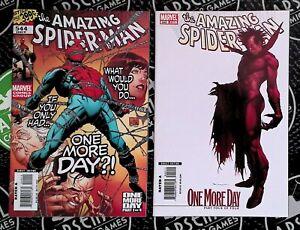 Amazing Spider-Man #544-545 (2007) Marvel Comics Mephisto Iron Man One More Day