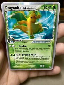 Dragonite EX 91/101 Dragon Frontiers Pokemon Card PL
