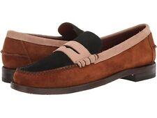 Sebago Dan Suede Tricolor Loafers