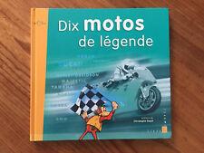 Livre Timbré - Dix motos pour le XXe siècle