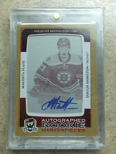 13-14 The Cup Rookie Masterpieces Printing Plate Magenta DOUGIE HAMILTON 1/1