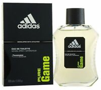 Adidas Pure Game Cologne by Adidas, 3.4 oz EDT Spray for men. NEW