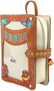 Cinderella Buch Disney Backpack Cosplay Rucksack Tasche Bag Loungefly